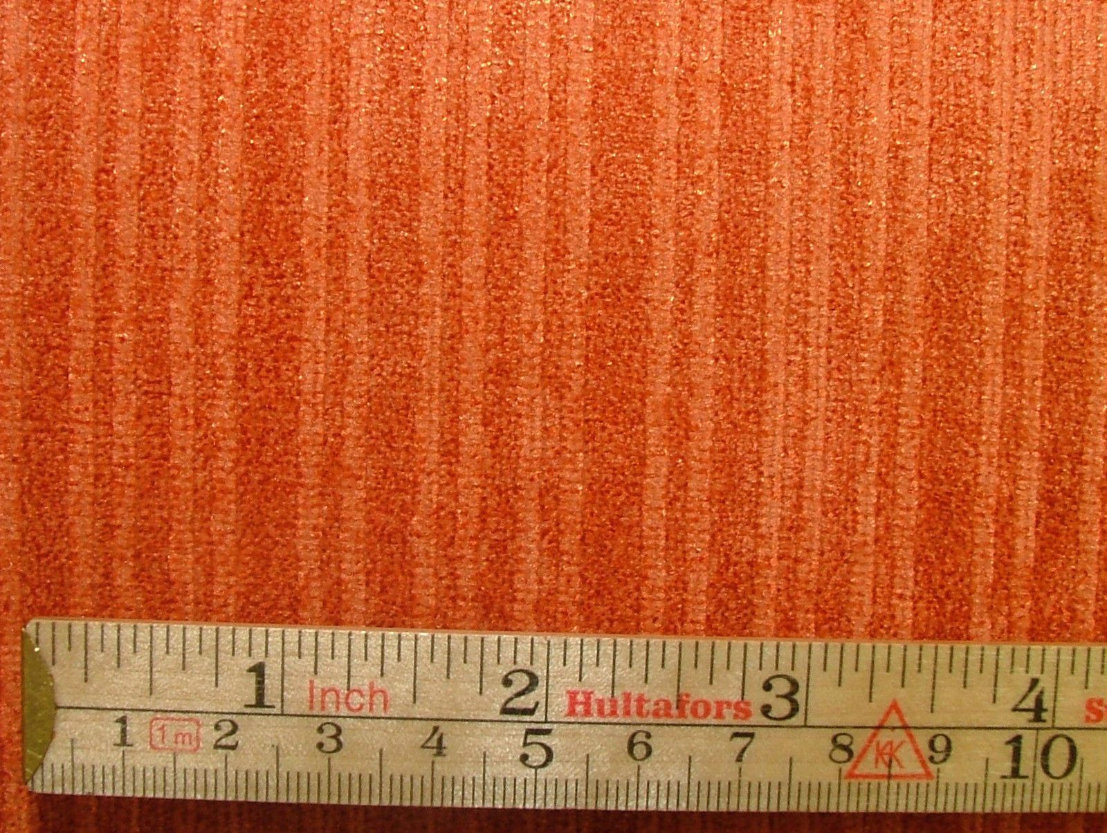 Orange Linen Curtains
